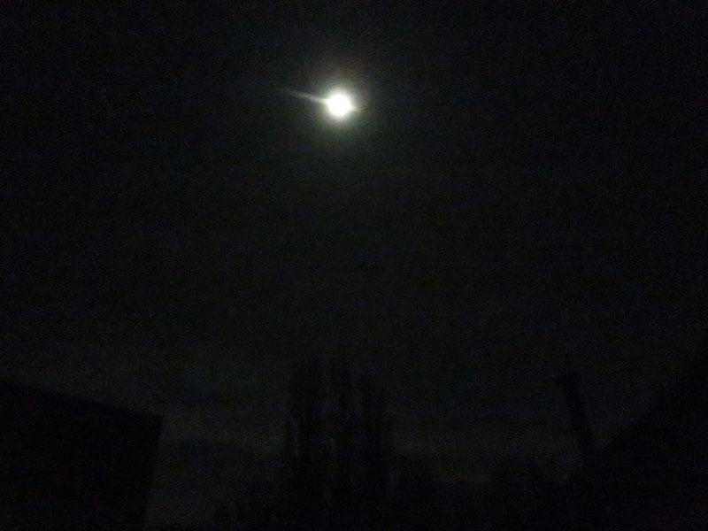 Winternacht Wanderung